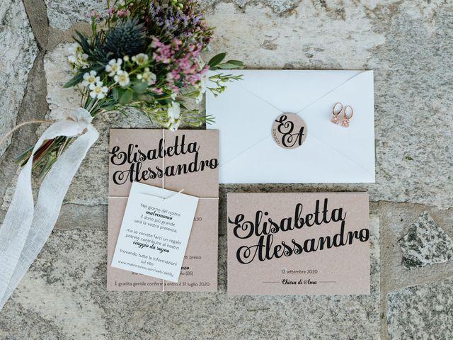 Il matrimonio di Alessandro e Elisabetta a Selvino, Bergamo 3