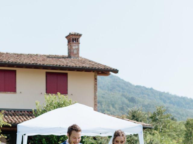 Il matrimonio di Alessandro e Elisabetta a Selvino, Bergamo 54