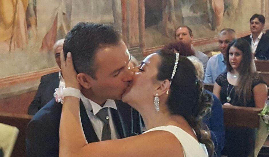 Il matrimonio di Simone e Linda a Rapallo, Genova