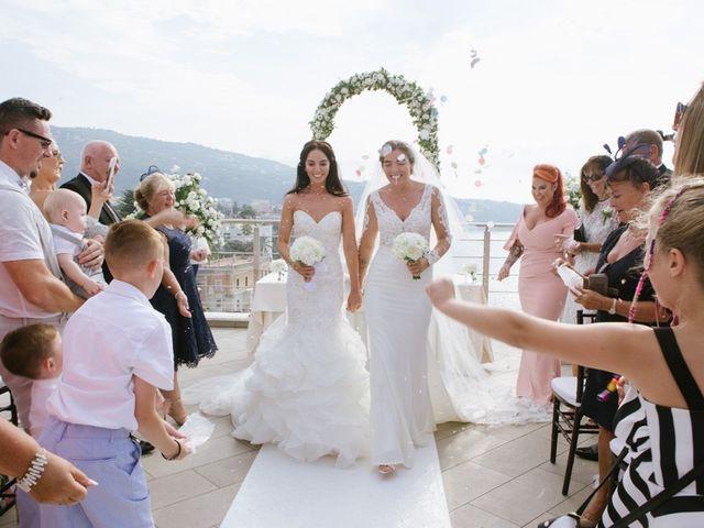 le nozze di Leanne e Nicole