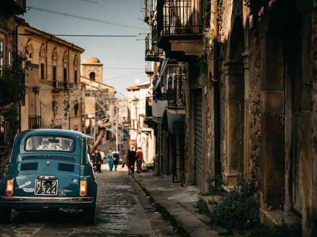 Il matrimonio di Sebastiano e Laura a Mistretta, Messina 22