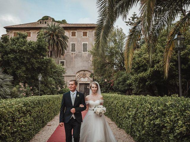 Il matrimonio di Alessio e Andreia a Santa Marinella, Roma 19