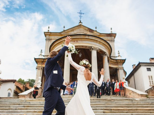 Il matrimonio di Jacques e Caterina a Montemagno, Asti 15