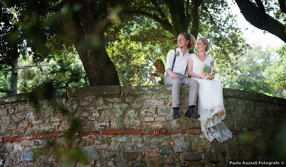 Il matrimonio di Robbin e Giulia a Radda in Chianti, Siena