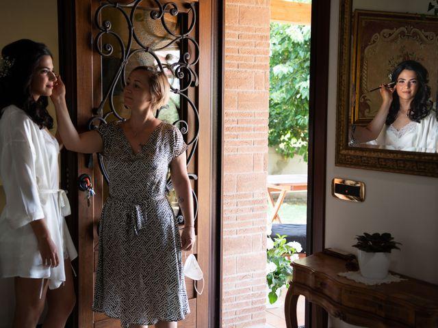 Il matrimonio di Flavia e Andrea a Grottaferrata, Roma 4