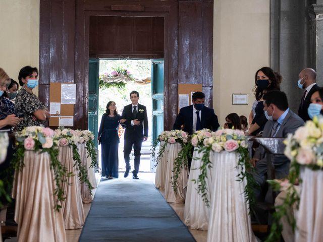 Il matrimonio di Flavia e Andrea a Grottaferrata, Roma 15