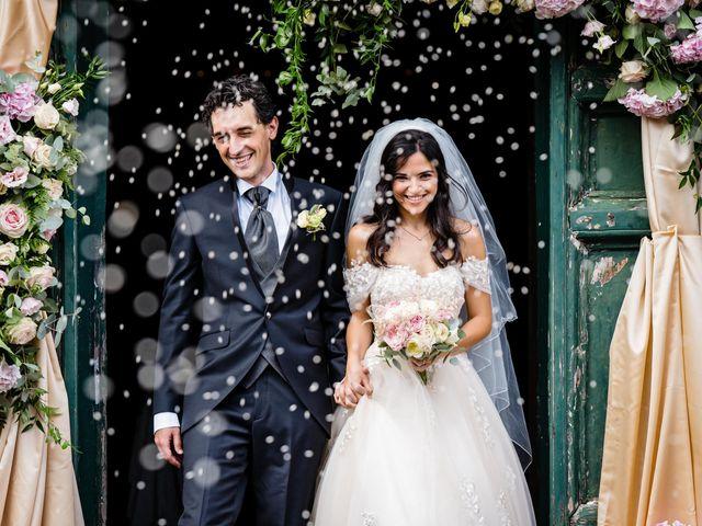 Il matrimonio di Flavia e Andrea a Grottaferrata, Roma 1
