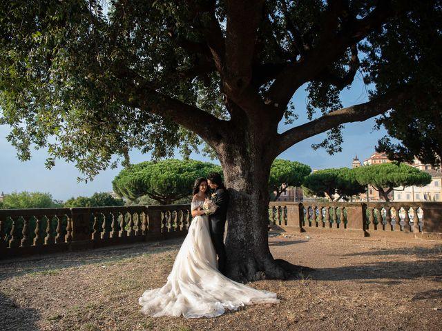 Il matrimonio di Flavia e Andrea a Grottaferrata, Roma 2