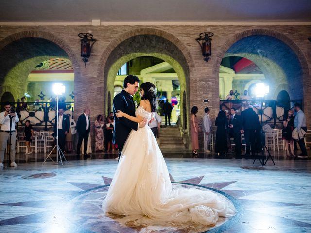 Il matrimonio di Flavia e Andrea a Grottaferrata, Roma 38