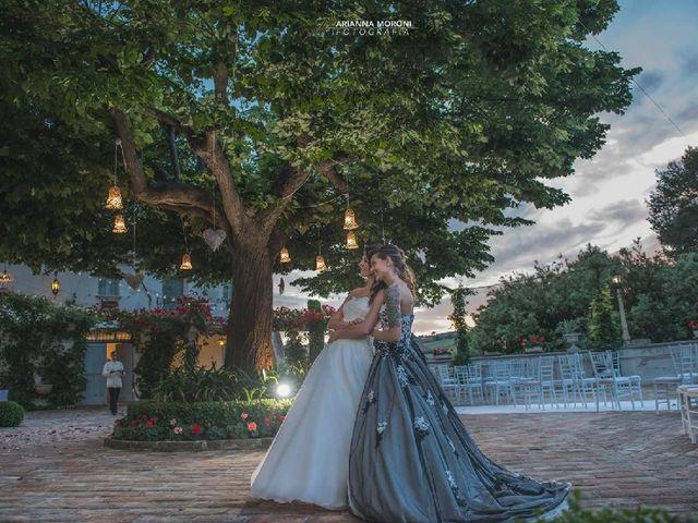 Il matrimonio di Milena e Elisa a Monte Porzio, Pesaro - Urbino 12