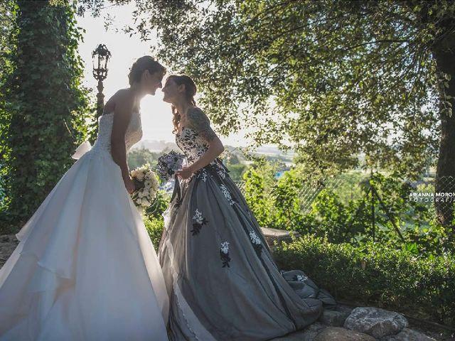 Il matrimonio di Milena e Elisa a Monte Porzio, Pesaro - Urbino 14