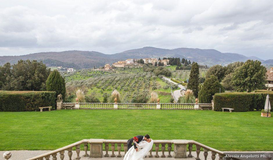 Il matrimonio di Alessio e Martina a Carmignano, Prato