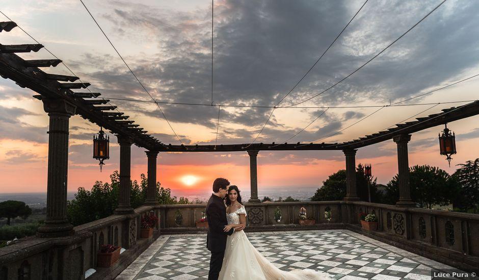 Il matrimonio di Flavia e Andrea a Grottaferrata, Roma