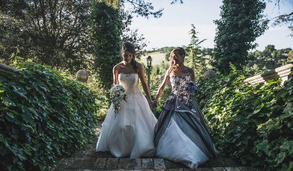Il matrimonio di Milena e Elisa a Monte Porzio, Pesaro - Urbino
