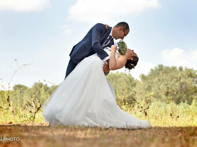 Il matrimonio di Fabio  e Maria Vittoria a Mesagne, Brindisi 1