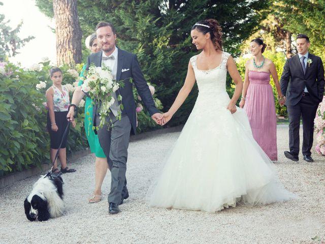 Il matrimonio di Christian e Donna a Poggio Berni, Rimini 6
