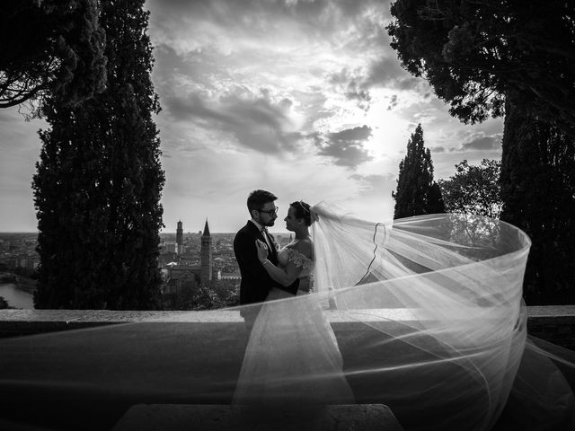 Il matrimonio di Nic e Meri a Verona, Verona 20