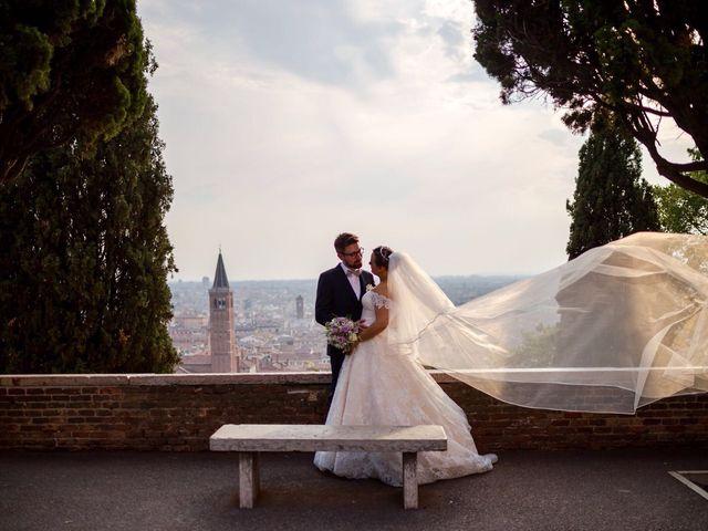 Il matrimonio di Nic e Meri a Verona, Verona 21