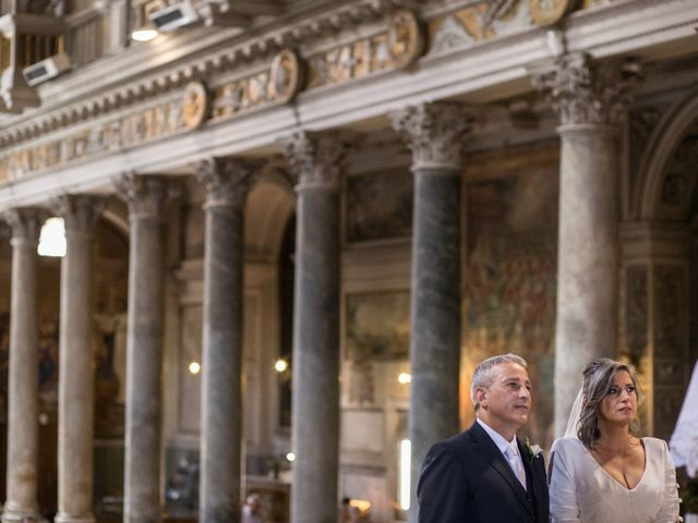 Il matrimonio di Massimiliano e Lavinia a Roma, Roma 1