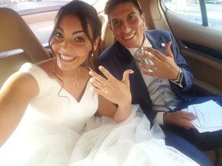 Le nozze di Michael e Fabiola