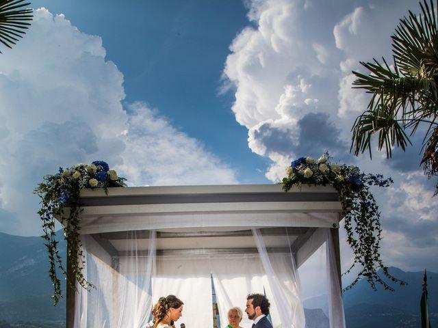 Il matrimonio di Riccardo e Ileana a Bellagio, Como 19