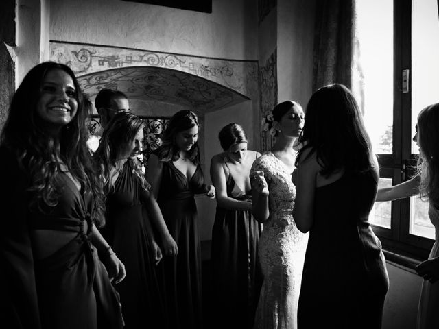 Il matrimonio di Ashton e Lucrezia a Majano, Udine 5