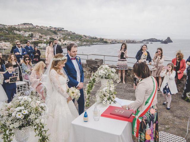 Il matrimonio di Manuel e Simona a Aci Castello, Catania 33