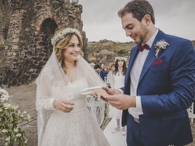 Il matrimonio di Manuel e Simona a Aci Castello, Catania 34