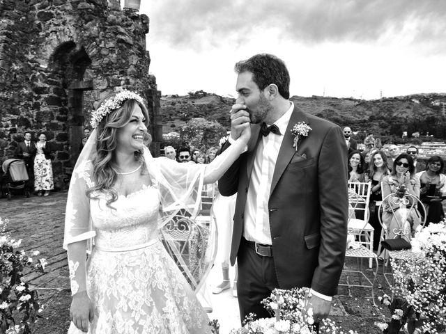 Il matrimonio di Manuel e Simona a Aci Castello, Catania 35