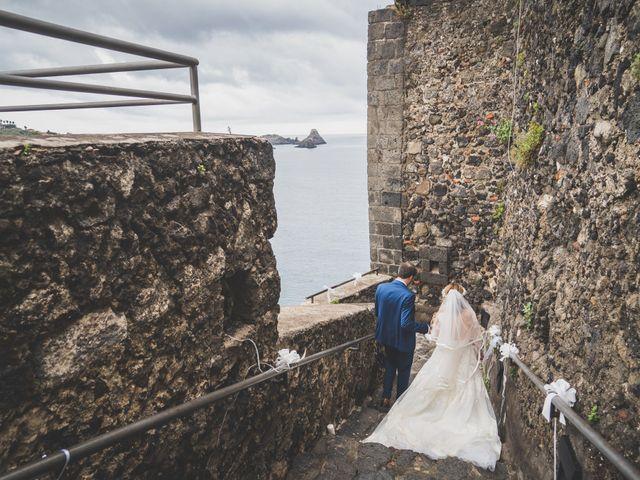Il matrimonio di Manuel e Simona a Aci Castello, Catania 41
