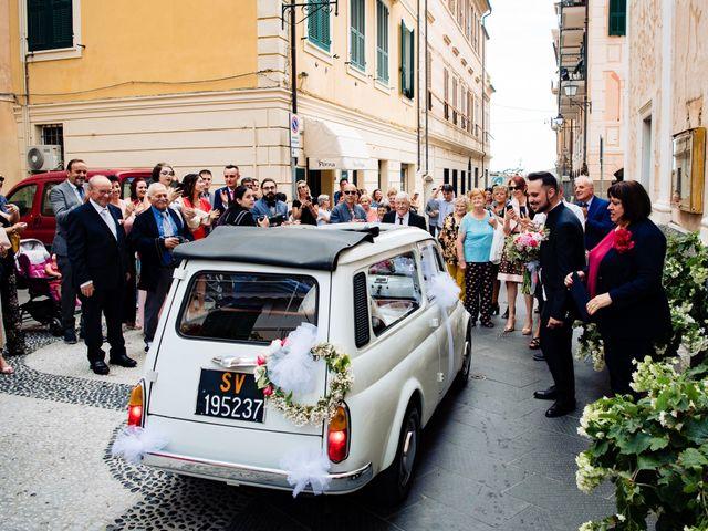 Il matrimonio di Davide e Vanessa a Ceriale, Savona 25