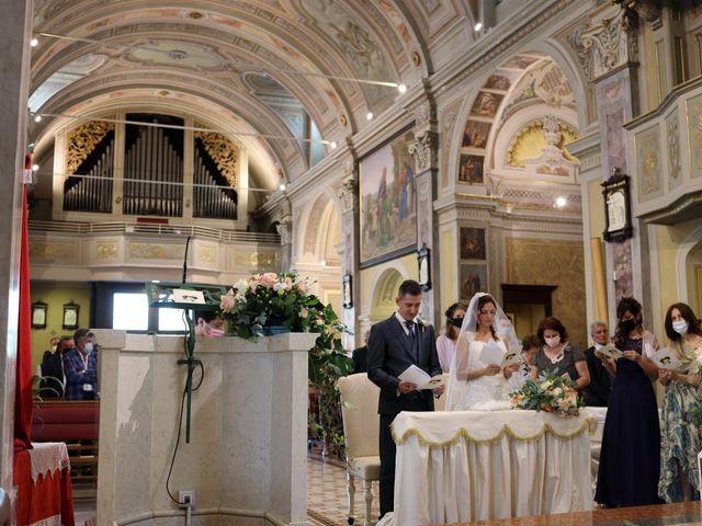 Il matrimonio di Marco e Stefania a Robbiate, Lecco 24