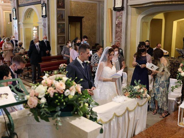 Il matrimonio di Marco e Stefania a Robbiate, Lecco 25