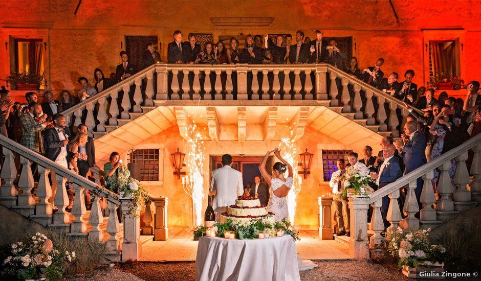 Il matrimonio di Ashton e Lucrezia a Majano, Udine
