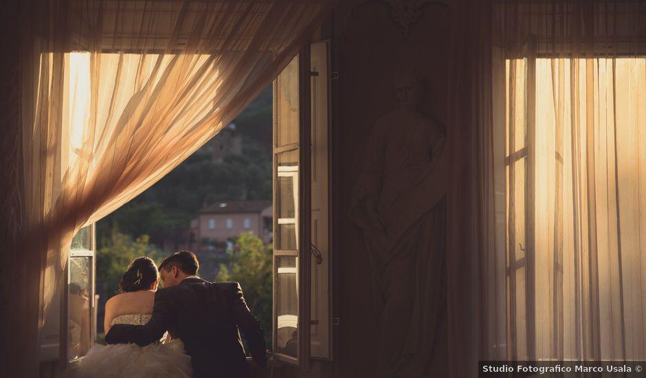 Il matrimonio di Riccardo e Laura a Buti, Pisa