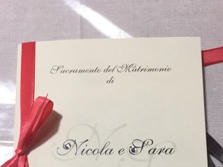 Le nozze di Sara  e Nicola 1