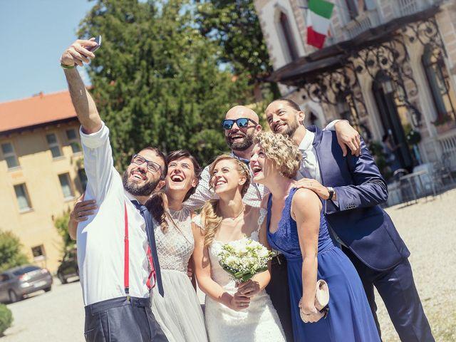 Il matrimonio di Daniele e Michela a Varese, Varese 72