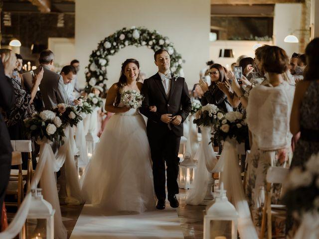 Il matrimonio di Daniele e Simona a Imbersago, Lecco 46