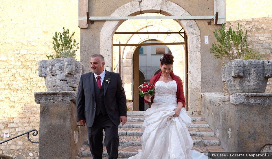 Il matrimonio di Luca e Monia a Alviano, Terni