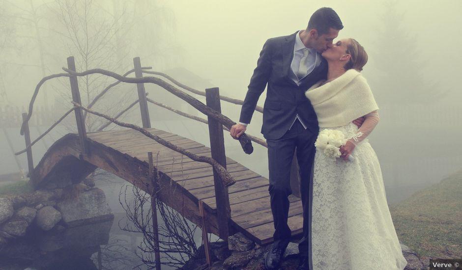 Il matrimonio di Carlo e Verdiana a Saint-Pierre, Aosta