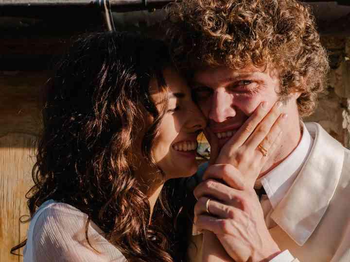 le nozze di Giulia e Robinson