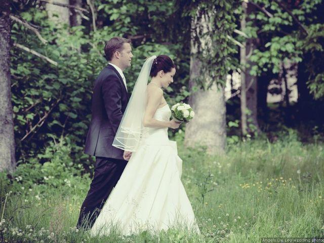 Le nozze di Chloè e Anthony