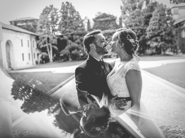 le nozze di Laura e Riccardo