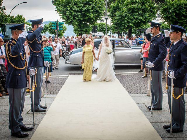 Il matrimonio di Jessica e Fabrizio a Stresa, Verbania 12
