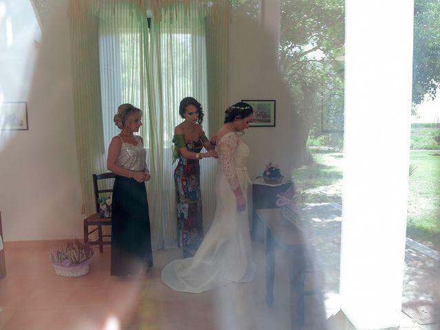 Il matrimonio di Fabio e Calliope a Pisticci, Matera 9