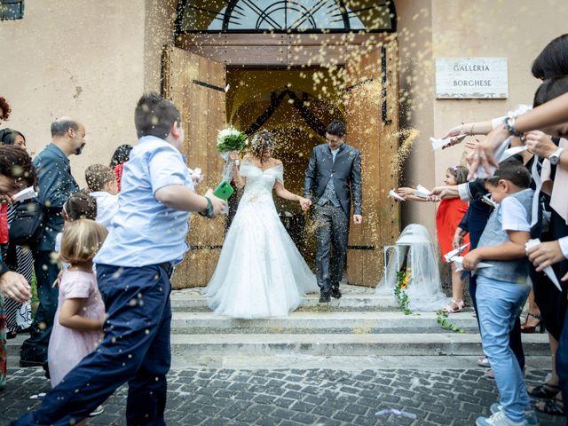 Il matrimonio di Alessandro e Viviana a Mentana, Roma 18