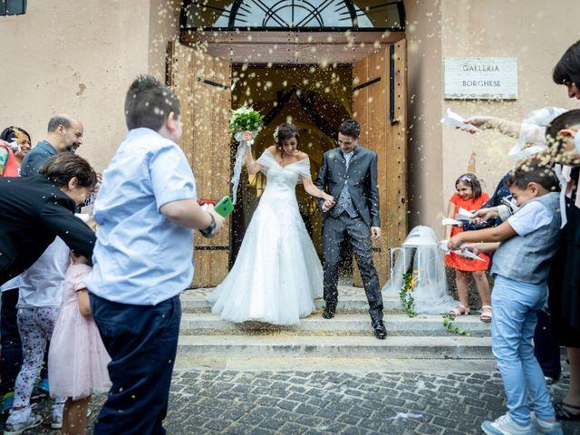 Il matrimonio di Alessandro e Viviana a Mentana, Roma 19