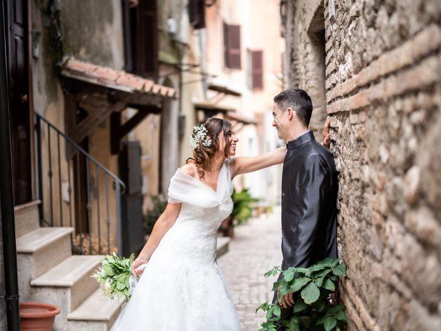 Il matrimonio di Alessandro e Viviana a Mentana, Roma 24