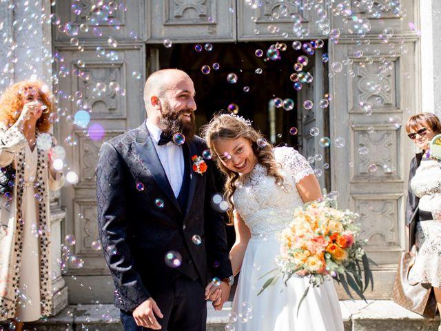 Il matrimonio di Guido e Elena a Bergamo, Bergamo 87