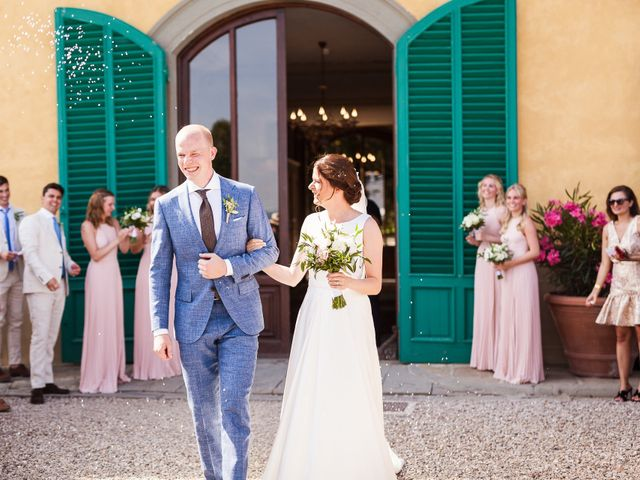 Il matrimonio di Elenor e Mathias a Incisa in Val d'Arno, Firenze 34